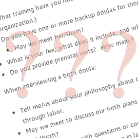 Questions to Ask a Doula | Baton Rouge, LA Doula & Birth Photographer