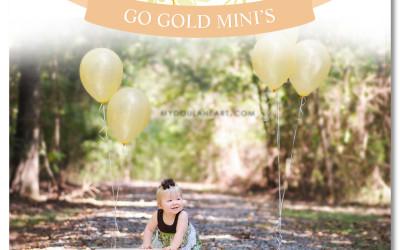 Go Gold for Laina Mini's!   Baton Rouge, LA Doula & Birth Photographer